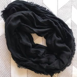 Apartment 9 Black Infinity Scarf